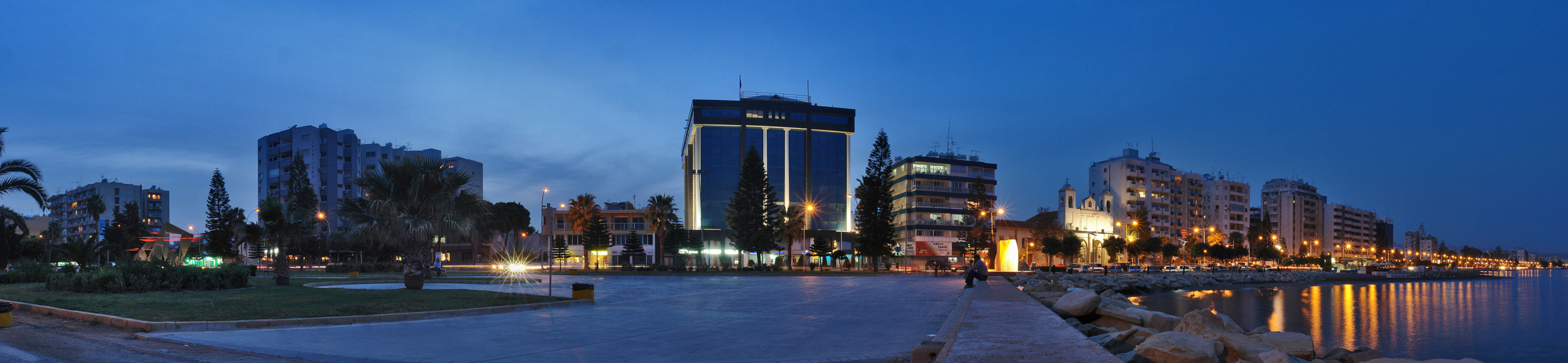 Limassol Cyprus  city pictures gallery : Limassol, Cyprus seafront at night. | Theomaria Estates LTD